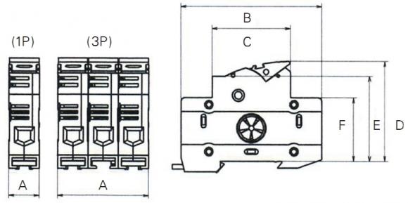 Bfm Series Din Rail Mount Type Model Bfm 101